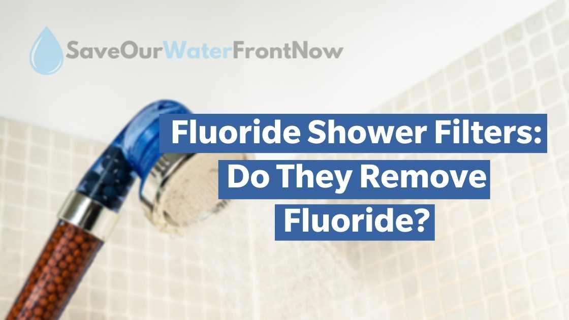 Fluoride Shower Filters