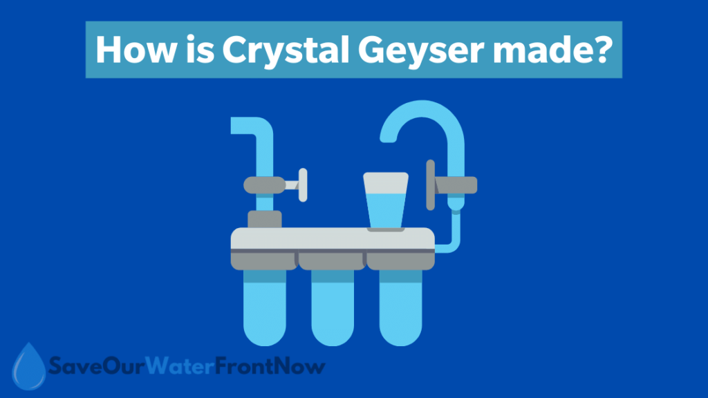 How is Crystal Geyser made?