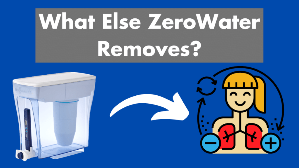 zerowater removals