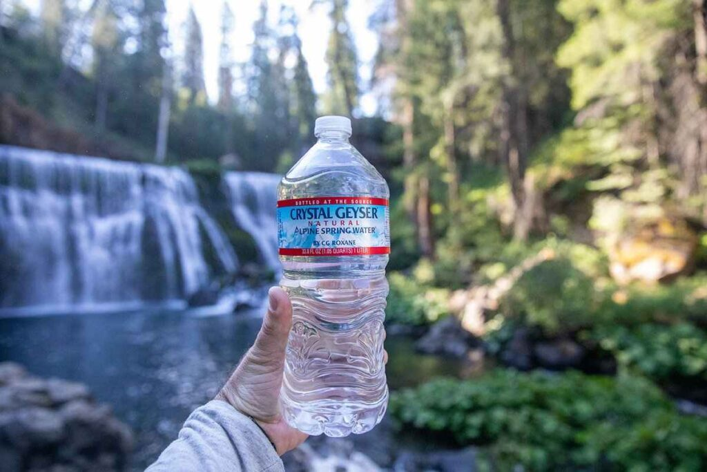 Does Crystal Geyser water have fluoride in it?