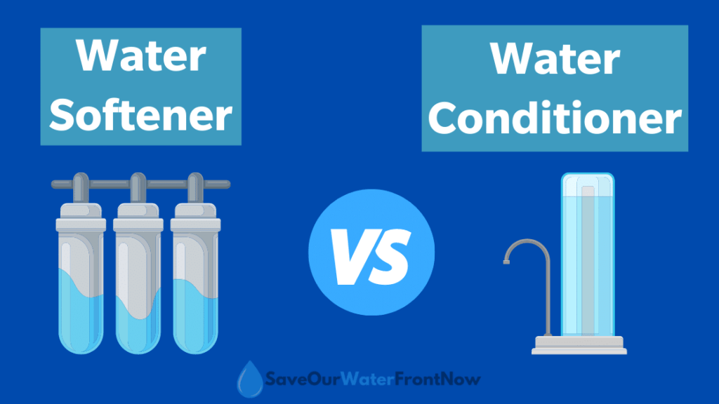 Water Softeners Vs Water Conditioners